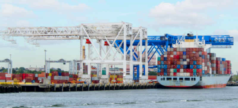 Shipping container transport WA