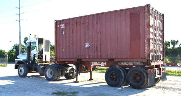 Container transport prices Perth WA.